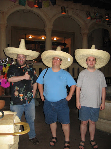 Also Because Sombreros Happen.